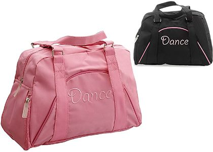 Pink & black holdalls for girls