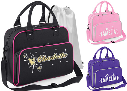 dance school bag with personalisation