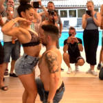 Kike & Nahir Bachata Improvisation in Marseille